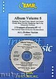 Ok�adka: Naulais J�r�me, Album Volume 5 + CD (5) - 2 Cornets & CD Playback