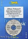 Ok�adka: Naulais J�r�me, Album Volume 8 + CD (5) - 2 Cornets & CD Playback