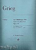 Ok�adka: Grieg Edward, Aus Holbergs Zeit Op. 40