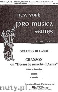 Okładka: Lasso Orlando Di, Chanson Dessus Le Marche D'Arras