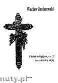 Okładka: Janiszewski Wacław, Pieśni religijne cz. 2 na orkiestrę dętą mieszaną (partytura)