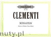 Okładka: Clementi Muzio, 4 Sonatas (Pf/4h)