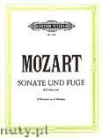Okładka: Mozart Wolfgang Amadeus, Sonate D-Dur KV 448 und Fuge in C-Moll KV 426 für 2 Klaviere