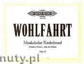Okładka: Wohlfahrt Heinrich, Children's Friend for Piano 4 Hands, Op. 87