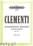 Okładka: Clementi Muzio, Selected Sonatas for Piano, Vol. 1