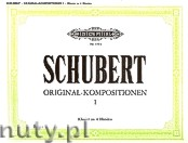 Ok�adka: Schubert Franz, Piano Duets (original), Vol. 1