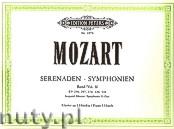 Okładka: Mozart Leopold, Mozart Wolfgang Amadeus, Symphonies Vol.2 KV 250, 297, 319, 320, 338 (Pf/4h)