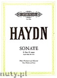 Okładka: Haydn Franz Joseph, Sonata No. 8 in G for Flute (Violin) and Piano