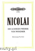 Okładka: Nicolai Otto, The Merry Wives of Windsor (Voice - Pf)