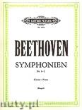 Okładka: Beethoven Ludwig van, Sinfonien Nr. 1 - 5 für Klavier, Band 1