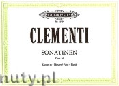 Okładka: Clementi Muzio, Sonatinas for Piano 4 Hands, Op. 36