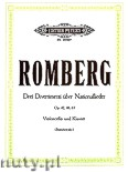 Ok�adka: Romberg Bernhard Heinrich, Three Divertimenti on National Songs for Violoncello and Piano, Op. 42, 46, 65