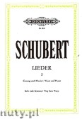 Ok�adka: Schubert Franz, Songs for Voice and Piano, Vol. 1