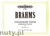 Okładka: Brahms Johannes, Hungarian Dances for Four Hands Piano, WoO 1 No. 11 - 21, Vol. 2