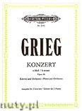 Okładka: Grieg Edward, Concerto in A minor Op.16 (2Pf/4h)