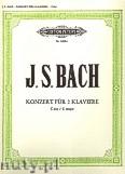 Okładka: Bach Johann Sebastian, Double Concerto in C BWV 1061 (2Pf/4h)