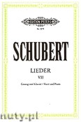 Ok�adka: Schubert Franz, Songs for Voice and Piano, Vol. 7