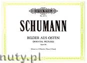 Okładka: Schumann Robert, Oriental Pictures for Piano 4 Hands, Op. 66