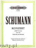 Ok�adka: Schumann Robert, Concerto in A minor for Violoncello and Orchestra, Op. 129