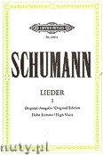 Ok�adka: Schumann Robert, Songs for Voice and Piano, Vol. 1 (High Voice)