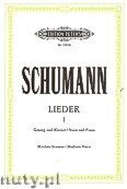 Ok�adka: Schumann Robert, Songs for Voice and Piano, Vol. 1 (Medium Voice)