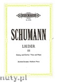 Ok�adka: Schumann Robert, Songs for Voice and Piano, Vol. 3