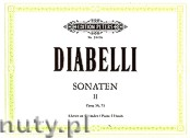 Ok�adka: Diabelli Antonio, Sonatas for Piano 4 Hands, Vol. 2