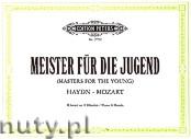 Okładka: Haydn Franz Joseph, Mozart Wolfgang Amadeus, Meister für die Jugend, Band 1