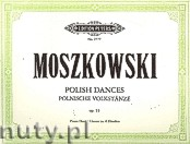 Okładka: Moszkowski Maurycy, Polish Dances Op.55 (Pf/4h)