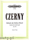 Okładka: Czerny Carl, 10 Studies for the Left Hand Op. 399 for Piano