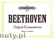 Ok�adka: Beethoven Ludwig van, Original-Kompositionen f�r Klavier zu 4 H�nden