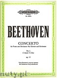 Ok�adka: Beethoven Ludwig van, Concerto No.1 in C Op.15 (2Pf/4h)
