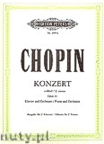 Ok�adka: Chopin Fryderyk, Concerto No. 1 in E minor Op. 11 for Piano and Orchestra (Edition for 2 Pianos)