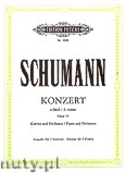 Okładka: Schumann Robert, Concerto in A minor Op. 54 for Piano and Orchestra (Edition for 2 Pianos)