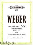 Okładka: Weber Carl Maria von, Konzertstück f-moll für Klavier und Orchester, Op. 79