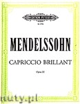 Okładka: Mendelssohn-Bartholdy Feliks, Capriccio Brillante in B minor Op. 22 for 2 Pianos