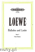 Okładka: Loewe Carl, Ballads and Songs for Voice and Piano, Vol. 1