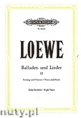 Ok�adka: Loewe Carl, Ballads and Songs for Voice and Piano, Vol. 2