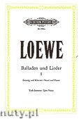 Ok�adka: Loewe Carl, Ballads and Songs for Voice and Piano, Vol. 1