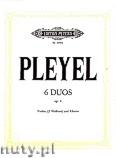 Ok�adka: Pleyel Ignaz Joseph, 6 Kleine Duos op. 8 f�r Violine (oder 2 Violinen) und Klavier