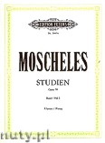 Okładka: Moscheles Ignaz, Studies for Piano, Op. 70, Vol. 1