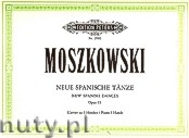 Ok�adka: Moszkowski Maurycy, New Spanish Dances for Piano 4 Hands, Op. 65