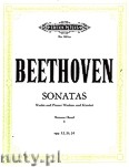 Okładka: Beethoven Ludwig van, Sonatas, complete Vol.1 (Vln—Pf)