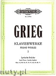 Ok�adka: Grieg Edward, Piano Works, Lyric Pieces, Vol. 1