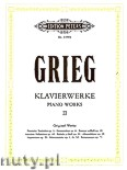 Ok�adka: Grieg Edward, Piano Works, Vol. 2 Op. 1, 3, 6, 16, 19, 24, 28, 29, 41, 52, 73