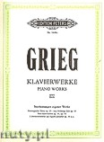 Okładka: Grieg Edward, Klavierwerke, Band 3