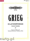 Ok�adka: Grieg Edward, Piano Works, Vol. 4