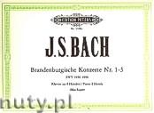Ok�adka: Bach Johann Sebastian, Brandenburgische Konzerte Nr. 1 - 3
