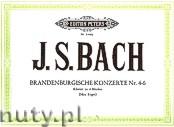 Okładka: Bach Johann Sebastian, Brandenburgische Konzerte Nr. 4 - 6