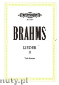 Okładka: Brahms Johannes, Songs, 18 Selectes Songs, Romances from The Fair Magelone Op. 33 for Voice and Piano, Vol. 2